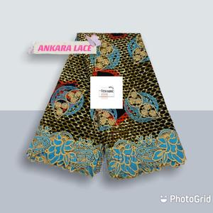 Ankara Lace Fabric   Clothing for sale in Lagos State, Agboyi/Ketu
