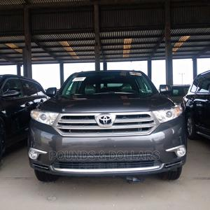 Toyota Highlander 2013 Limited 3.5L 2WD Gray | Cars for sale in Lagos State, Apapa