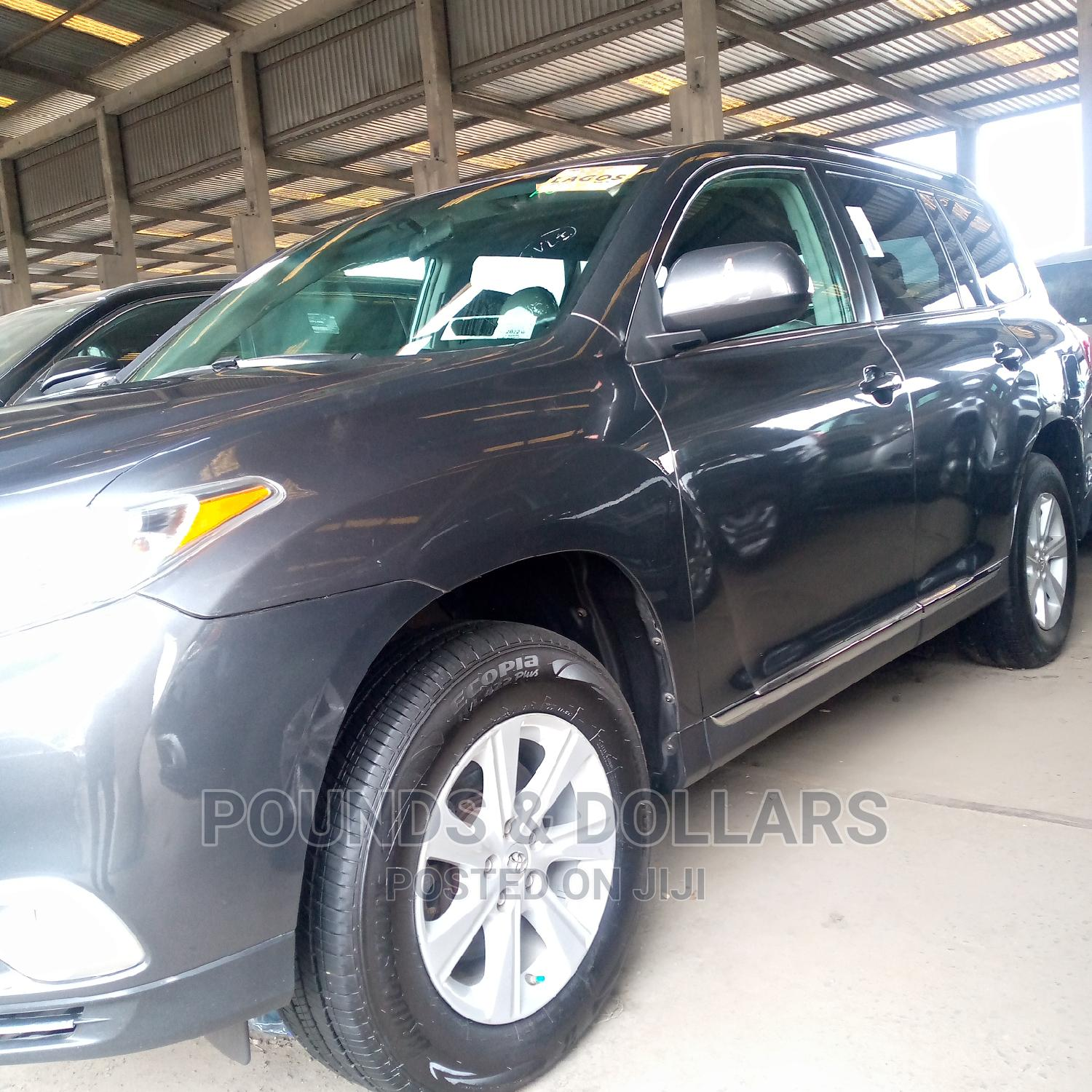 Toyota Highlander 2013 Limited 3.5L 2WD Gray   Cars for sale in Apapa, Lagos State, Nigeria