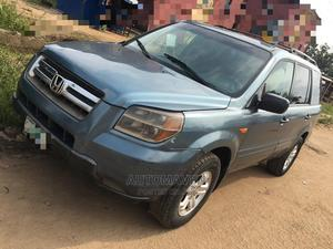 Honda Pilot 2007 EX-L 4x2 (3.5L 6cyl 5A) Green | Cars for sale in Lagos State, Isolo