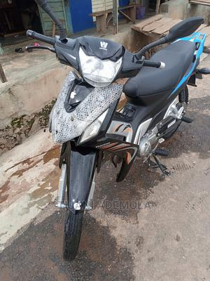 Haojue HJ110-2D 2021 Black | Motorcycles & Scooters for sale in Oyo State, Oyo