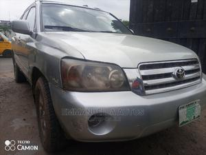 Toyota Highlander 2004 Base FWD Silver   Cars for sale in Lagos State, Ikeja