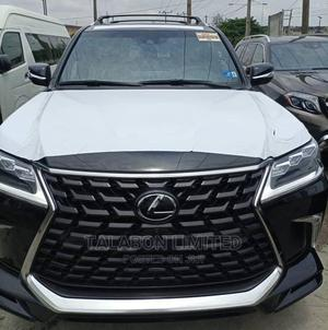 New Lexus LX 2021 570 AWD Black | Cars for sale in Lagos State, Ikeja