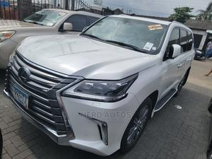 Lexus LX 2016 570 AWD White | Cars for sale in Lagos State, Surulere