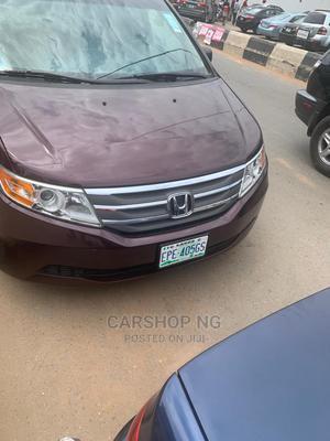 Honda Odyssey 2012 2.4 2WD Burgandy | Cars for sale in Lagos State, Ikeja