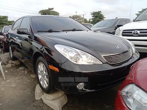 Lexus ES 2004 330 Sedan Black | Cars for sale in Lagos State, Apapa