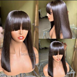 Double Drawn Fringe Bob Wig | Hair Beauty for sale in Lagos State, Ikeja