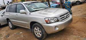 Toyota Highlander 2006 Silver | Cars for sale in Lagos State, Isolo