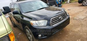 Toyota Highlander 2008 Black | Cars for sale in Lagos State, Isolo