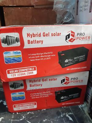 220ah Hybrid Gel Solar Battery | Solar Energy for sale in Oyo State, Ibadan