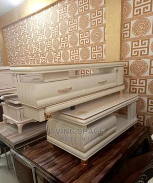 Glass Top Center Table With Tv Stand | Furniture for sale in Lagos State, Ajah