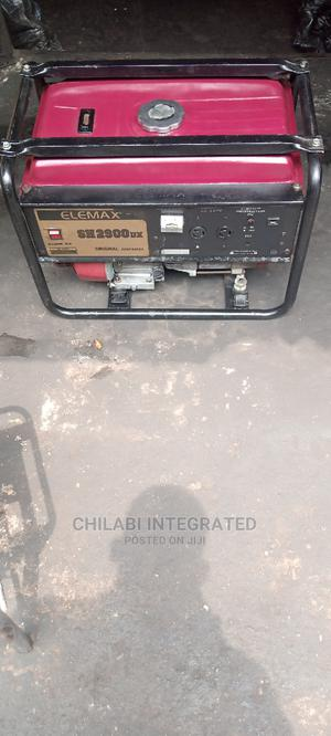 Fairly Used 2.5KVA ELEMAX SH2900 Generator Not Worked on B4! | Electrical Equipment for sale in Rivers State, Port-Harcourt