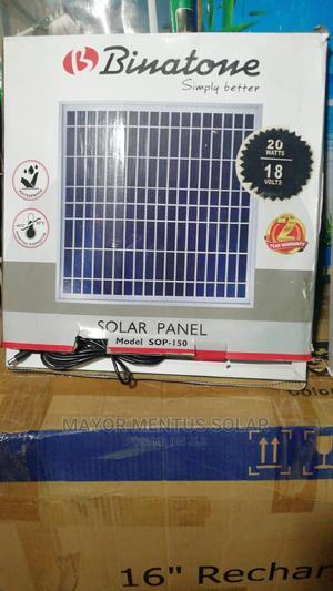 Binatone Solar Panel 20w 18 Volts   Solar Energy for sale in Lagos State, Ojo