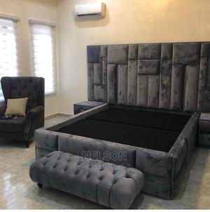 6 by 6 Upholstery Bed Frame for Sale | Furniture for sale in Lagos State, Ikeja