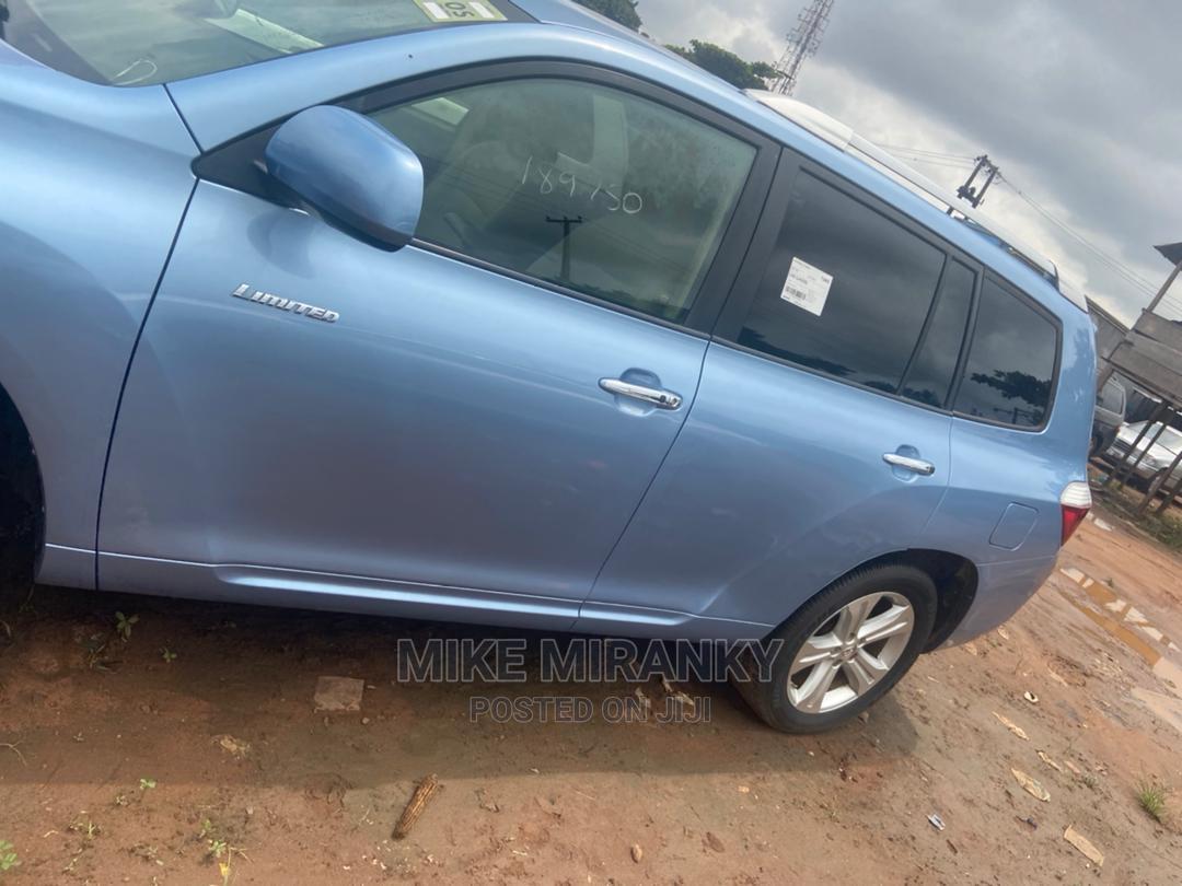 Toyota Highlander 2008 Limited Blue