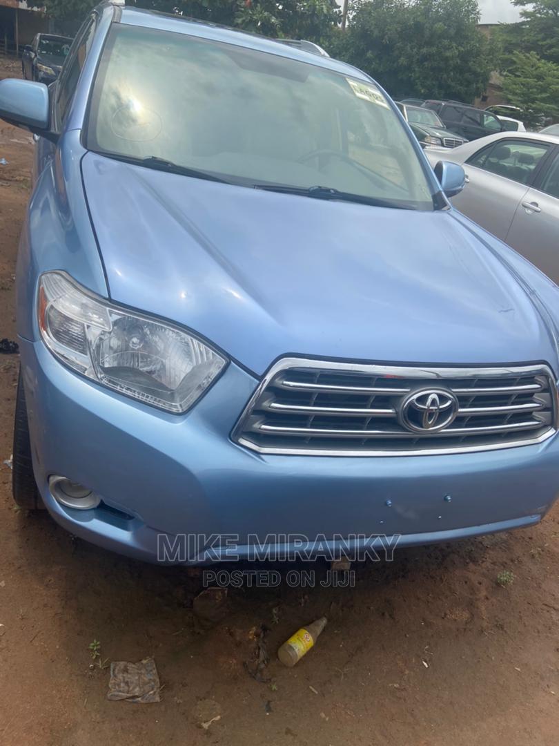 Toyota Highlander 2008 Limited Blue   Cars for sale in Benin City, Edo State, Nigeria