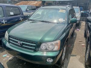 Toyota Highlander 2003 Base AWD Green   Cars for sale in Lagos State, Apapa
