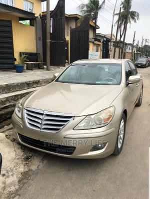 Hyundai Genesis 2009 Gold | Cars for sale in Lagos State, Gbagada