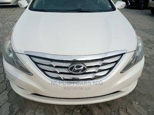 Hyundai Sonata 2010 White | Cars for sale in Lagos State, Lekki