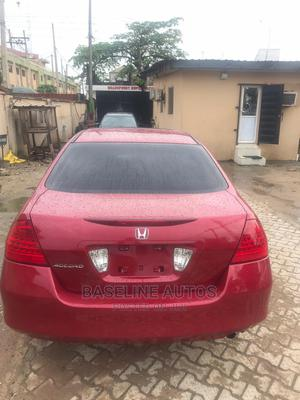 Honda Accord 2007 Red | Cars for sale in Lagos State, Isolo
