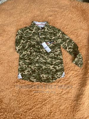 Army Colour Long Sleeves Shirt | Children's Clothing for sale in Lagos State, Lagos Island (Eko)