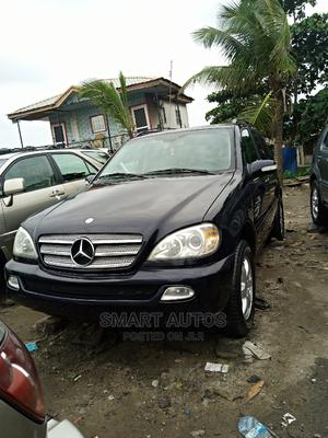 Mercedes-Benz M Class 2004 ML 350 Blue   Cars for sale in Lagos State, Apapa