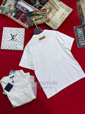 High Quality LOUIS VUITTON White T-Shirts Available for Sale | Clothing for sale in Lagos State, Ikoyi