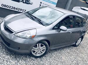 Honda Fit 2008 Automatic Gray | Cars for sale in Lagos State, Ogba
