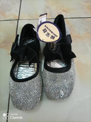 Stone-Studded Outing Shoes for Girls   Children's Shoes for sale in Abuja (FCT) State, Gwarinpa