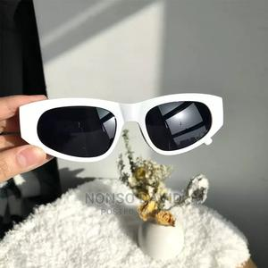 2021 New Unisex Balmain Sunglasses Vintage Square Sunglasse   Clothing Accessories for sale in Rivers State, Obio-Akpor