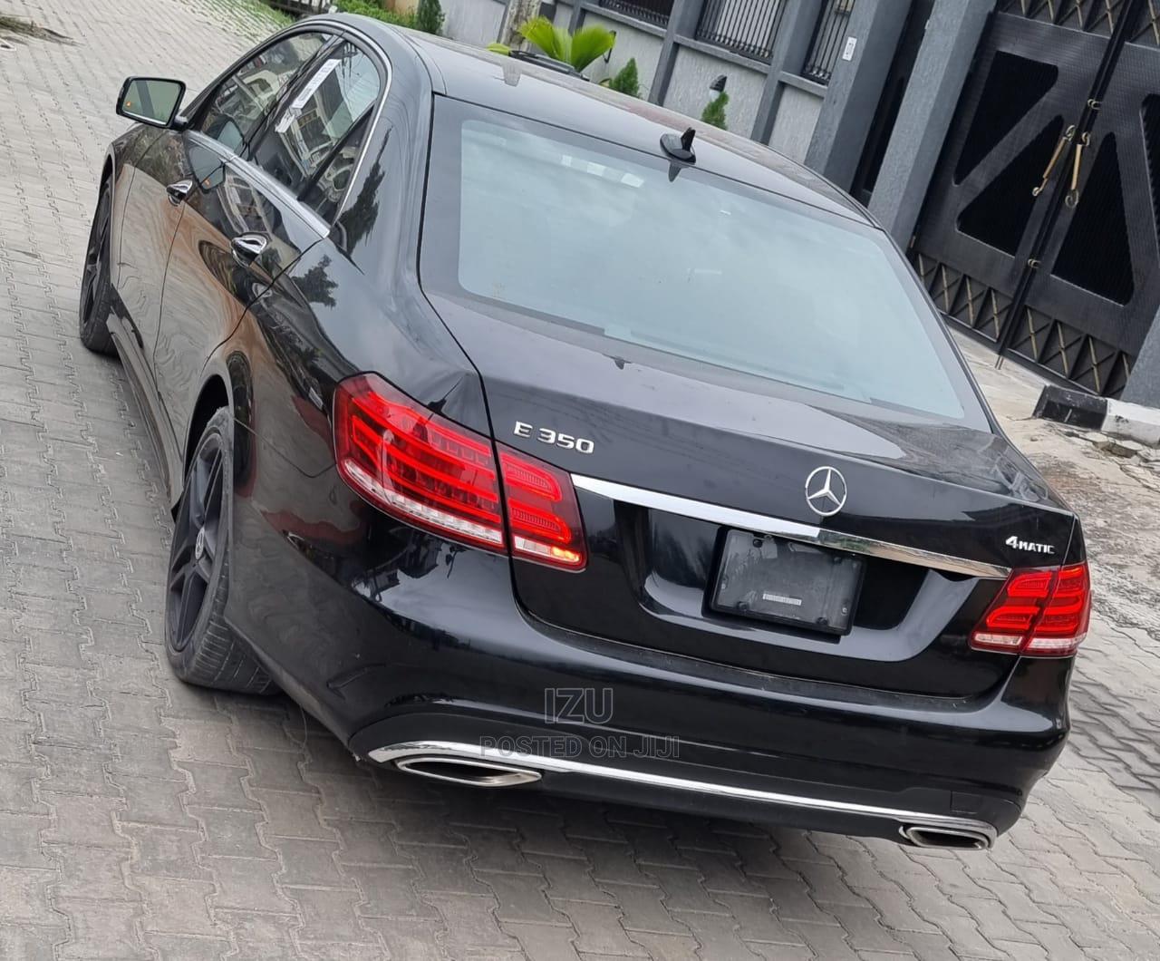 Mercedes-Benz E350 2016 Black | Cars for sale in Lekki, Lagos State, Nigeria