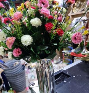 Silver Flower Vase | Home Accessories for sale in Lagos State, Alimosho