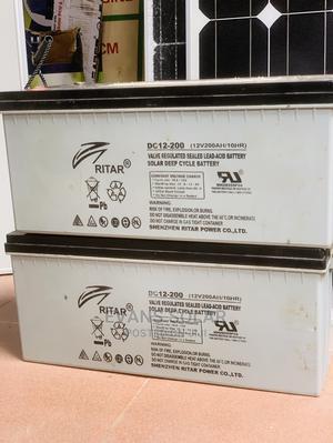 Ritar Battery 200ah 12v New Arrival   Solar Energy for sale in Lagos State, Ikoyi