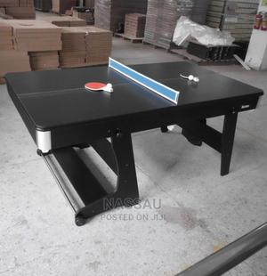 2 In 1 Combo Pool Table Tennis Table (6 Foot) (Foldable) | Sports Equipment for sale in Lagos State, Lekki
