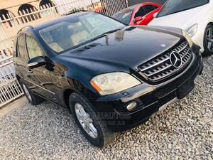 Mercedes-Benz M Class 2007 ML 350 4Matic Black | Cars for sale in Lagos State, Ogba