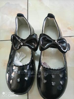 Bow Detail Black Dressing Shoe for Girls   Children's Shoes for sale in Abuja (FCT) State, Gwarinpa