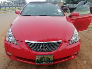 Toyota Solara 2005 3.3 Convertible Red | Cars for sale in Abuja (FCT) State, Jabi