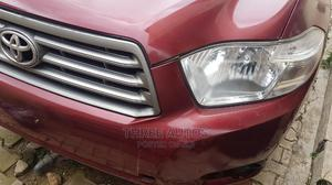 Toyota Highlander 2008 Red   Cars for sale in Lagos State, Ojodu