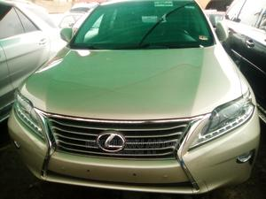 Lexus RX 2013 350 FWD Gold   Cars for sale in Lagos State, Ikeja