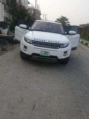 Land Rover Range Rover Evoque 2013 Pure AWD 5-Door White | Cars for sale in Lagos State, Surulere