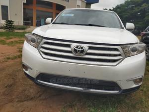 Toyota Highlander 2012 SE White | Cars for sale in Lagos State, Ikeja