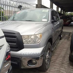 Toyota Tundra 2012 Double Cab 4x4 Limited Gray | Cars for sale in Lagos State, Amuwo-Odofin