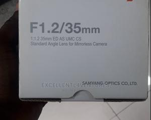 Samyang Lens F 1.2/35mm | Accessories & Supplies for Electronics for sale in Lagos State, Ikeja