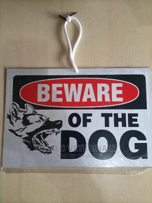 Beware of Dog Warning Sign   Pet's Accessories for sale in Lagos State, Agege