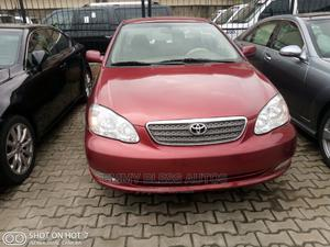 Toyota Corolla 2005 LE Red | Cars for sale in Lagos State, Magodo