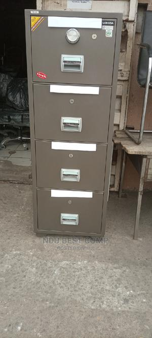 4 Drawer Fireproof Safe | Safetywear & Equipment for sale in Lagos State, Ikeja