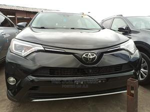 Toyota RAV4 2017 XLE AWD (2.5L 4cyl 6A) Black   Cars for sale in Lagos State, Apapa