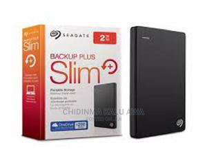 Seagate Backup Plus Slim External Hard Drive HDD - 2TB | Computer Hardware for sale in Lagos State, Ikeja