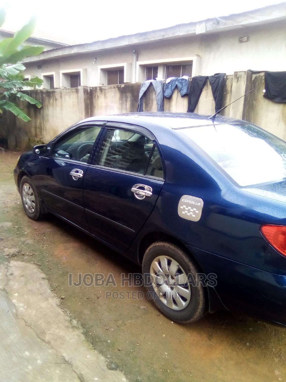 Toyota Corolla 2004 Sedan Automatic Blue | Cars for sale in Ibadan, Oyo State, Nigeria