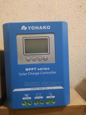 60ah 12/24/48vos MPPT Solar Charge Controller Is Available   Solar Energy for sale in Lagos State, Ojo